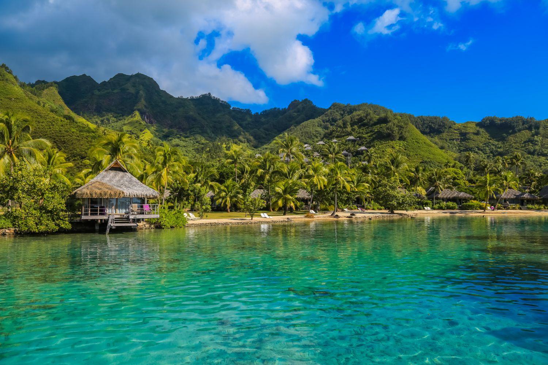 Insel in der Südsee/Französisch-Polynesien