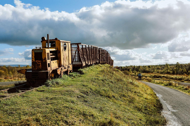Sky Train Lough Boora Discovery Park