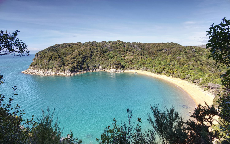 Ausblick beim Ausflug zum Abel-Tasman-Nationalpark
